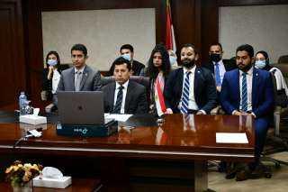 وزير الشباب يفتتح جلسة المنطقة العربية بمنتدي شباب المجلس الاقتصادي الاجتماعي للامم المتحدة ECOSOC عبر تقنية الفيديو كونفرانس