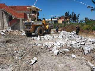 إزالة 11 حالة تعدي على مساحة 1730 متر مربع بالبحيرة