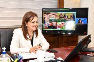 وزيرة التخطيط تشارك بالحوار حول الأمن الغذائي في منطقة الشرق الأوسط وشمال إفريقيا