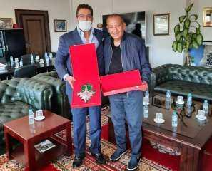 تكريم كامل أبو على بدولة المغرب
