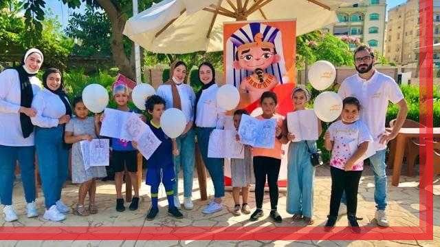 الفرعون الصغير.. مشروع تخرج طلبة بالاهرام الكندية تحت شعار جيل صغير بمتحف كبير
