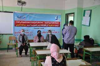 """جامعة كفر الشيخ تنظم قافلة متعددة التخصصات بقرية الملاوح """"وقف قبلى"""" بمبادرة حياة كريمة"""