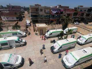 """صحة دمياط: """"توقيع الكشف الطبى بالمجان على ١٣٨٥ مواطن بالمحمدية"""""""