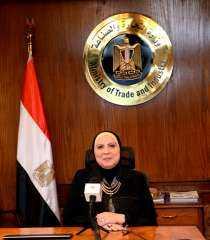 وزيرة التجارة والصناعة تقرير حول مؤشرات اداء التجارة الخارجية غير البترولية لمصر خلال شهر سبتمبر 2021
